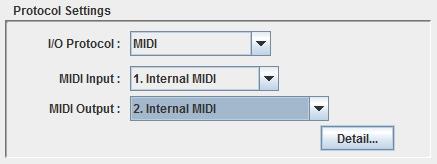 PICnomeSerial MIDI Setting